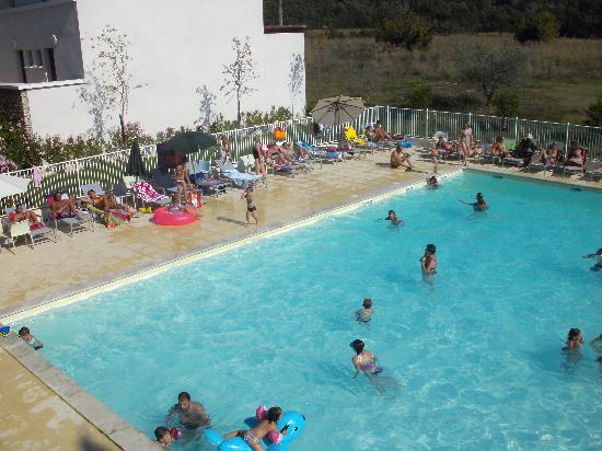 Résidence Goélia Le Domaine du Moulin Blanc : Fréquentation de la piscine