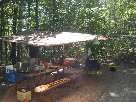 Grand Isle State Park: Tent site