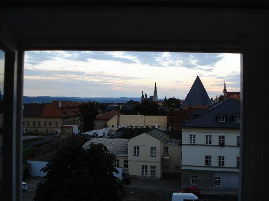 Poets Corner Hostel Olomouc: View from private room