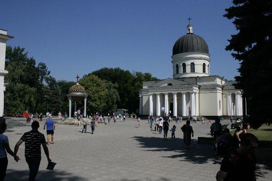 Chisinau, Moldavie : Piata marii adunari national