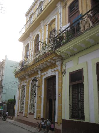 La Casa De La Calle Luz Bed & Breakfast : Fachada de la casa (la casa esta en el ultimo piso)