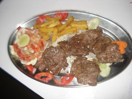 Jazz Inn : fillet kebabs.jazzinn