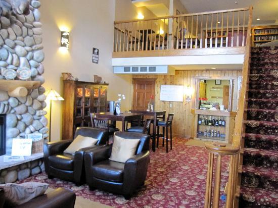 Hotel Frisco: The lobby