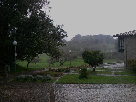 Fincas Las Nieves: Menuda lluvia