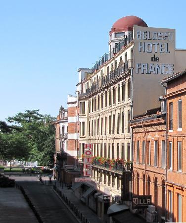 هوتل دي فرانس: Vue de l'Hotel de France rue d'Austerlitz