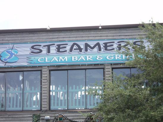 Steamers Clam Bar & Grill: STEAMERS, CEDAR KEY, fL