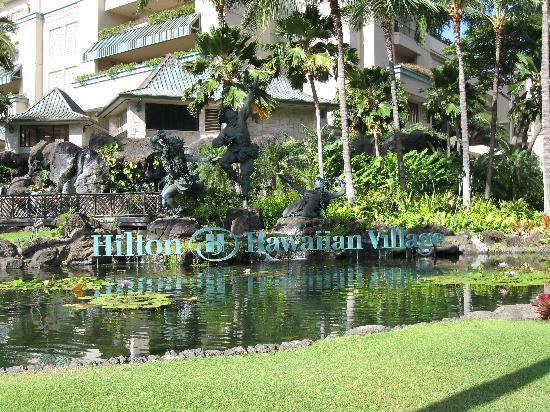 Hilton Hawaiian Village Waikiki Beach Resort : Entrance