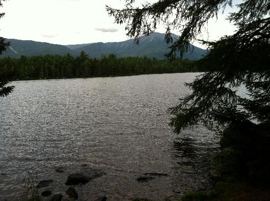 Millinocket, ME: Mt Katahdin from our cabin