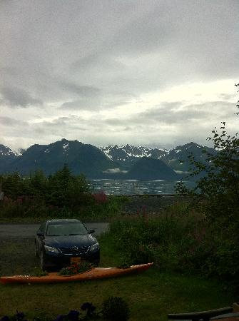 Alaska Paddle Inn: picture window veiw