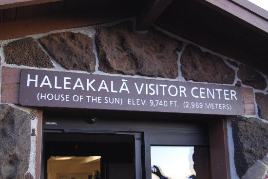 Paia, Hawái: Visitors Center entrance