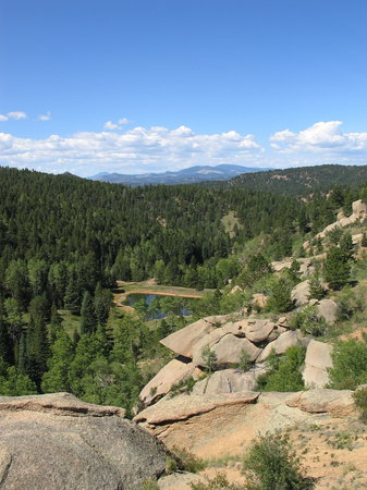 Mueller State Park: Outlook Ridge to Red Tail Overlook Hike