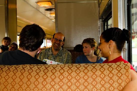 Hobo Railroad: sitting on the train