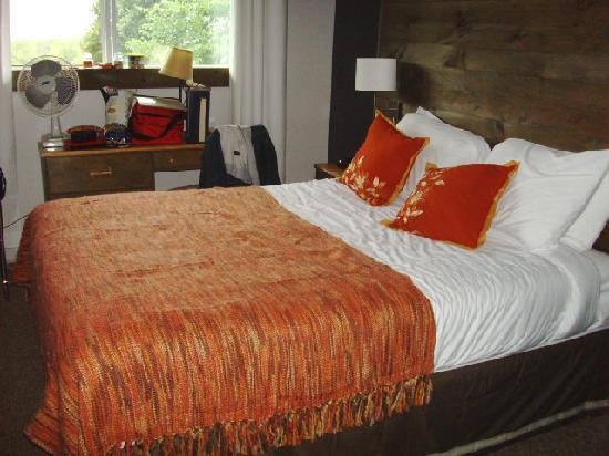Auberge des Appalaches: Chambre petite mais très confortable et propre.