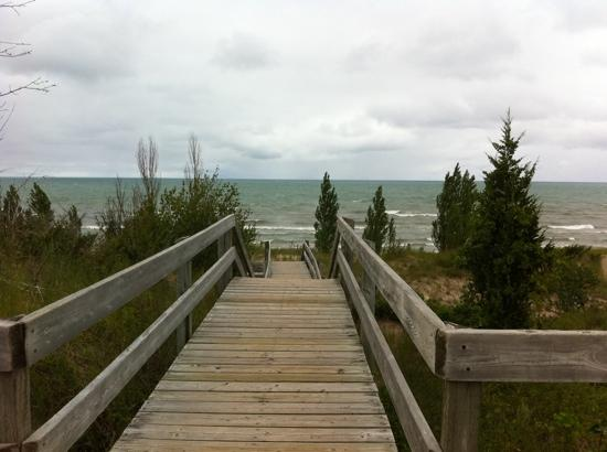 Pinery Provincial Park : The morning after the tornado watch