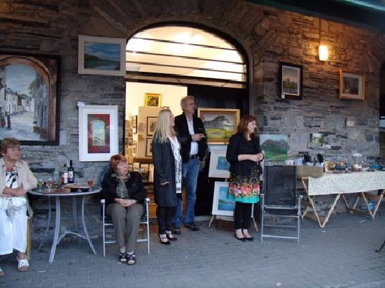 The Back Lane Gallery : 1ST  Annual Art and Music Festival