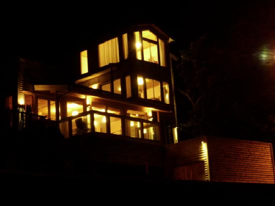 Days Bay Homestay: All lit up with just 250Watts
