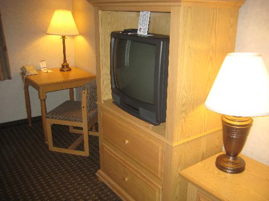 Comfort Inn & Suites Custer: OK...it's not a huge flat screen but who watches TV here anyway!