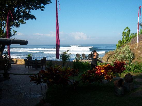 Pondok Pitaya: Hotel, Surfing and Yoga: The view from our room