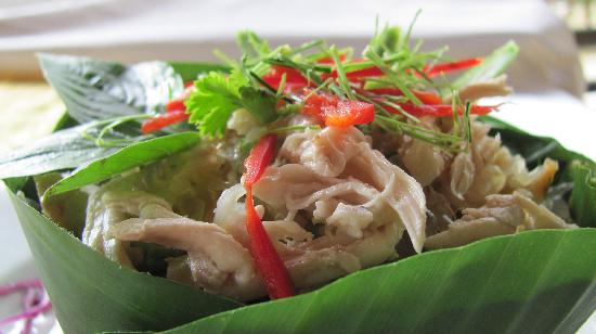 Battambang Oh Yeah! Restaurant : Rice Salad with Pomelo