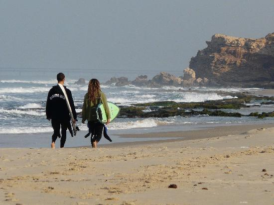 Meridian Beach: the beach