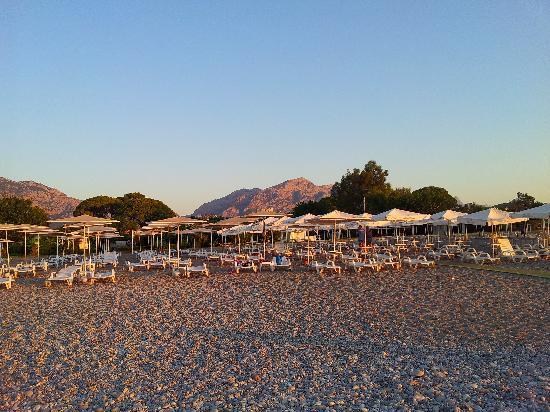 Sultan's Beach Hotel: vue de la plage
