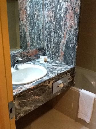 Mercure Abu Dhabi Centre Hotel: sink