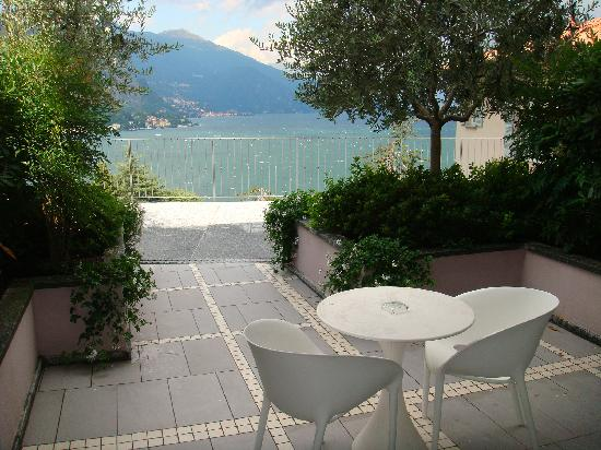 view from our balcony - Picture of Borgo Le Terrazze, Bellagio ...