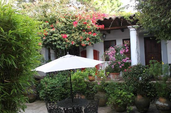 Casa Felipe Flores: Patio..