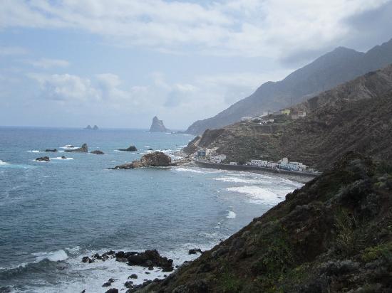 Taganana: Roque de la Bodegas village