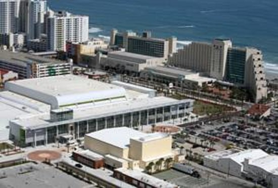 Aerial View Of Ocean Center