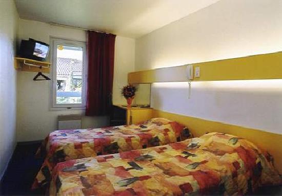 Hotel Lou Mistralou : Chambre que nous avions