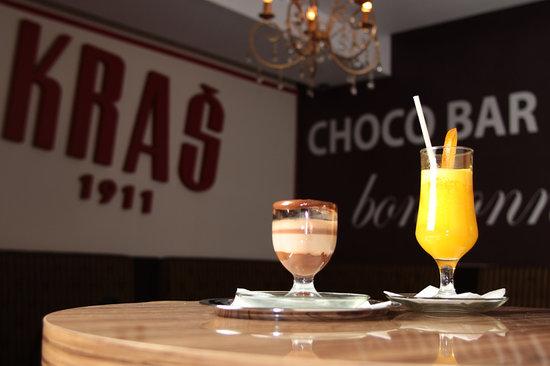 Choco bar Bonbonniere Kras