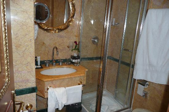 River Palace Hotel: shower room