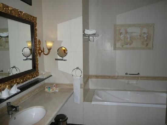 Seruni II Gunung Gede: very spacious bathroom