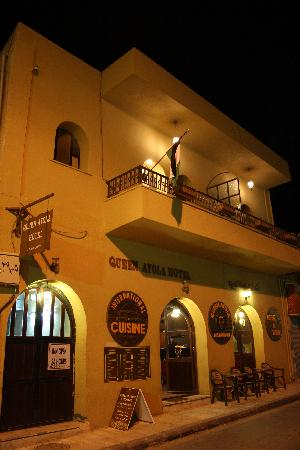 Queen Ayola Hotel: The Front Hotel