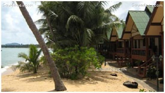 Lolita Bungalows : good bungalow right on the beach