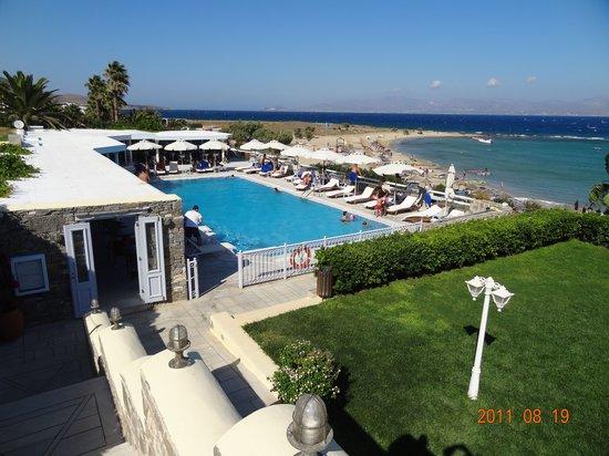 Veranda Blue : Restaurant Saint George Paros