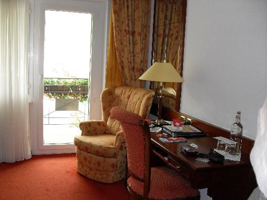 Parkhotel Beau Site : le coin bureau