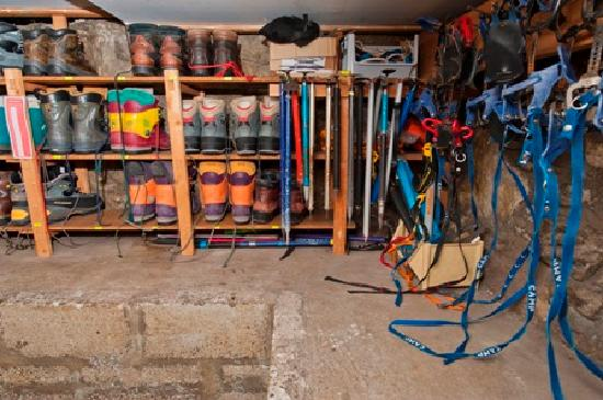 Ardenbeg Bunkhouse: Outdoor equipment for hire