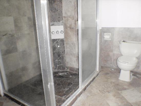 South Sea Resort: シャワーブース&トイレです