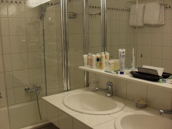 Parkhotel Beau Site : la salle de bain
