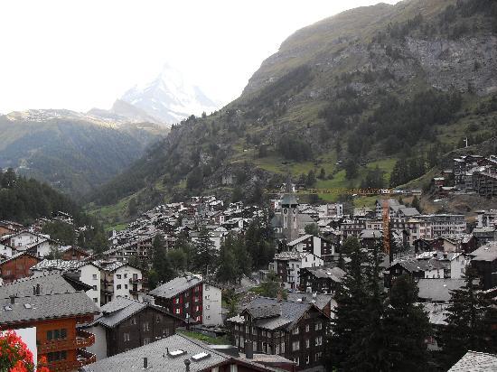 Parkhotel Beau Site : la vue du balcon