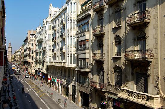 Vincci Palace Valencia: Vistas