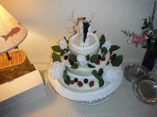 Arctic Fox Inn: our cake