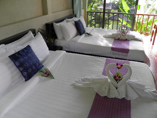 Orchid Resort Bailan: welcome to your room