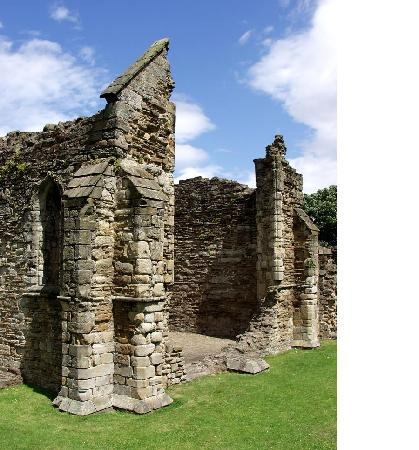 Flintshire, UK: Basingwerk Abbey