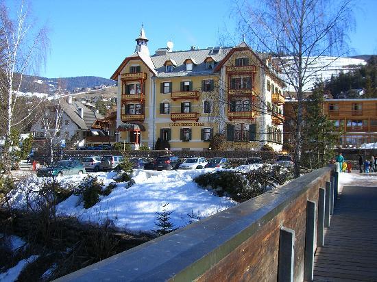 Hotel Monte Sella: L'Hotel visto da fuori