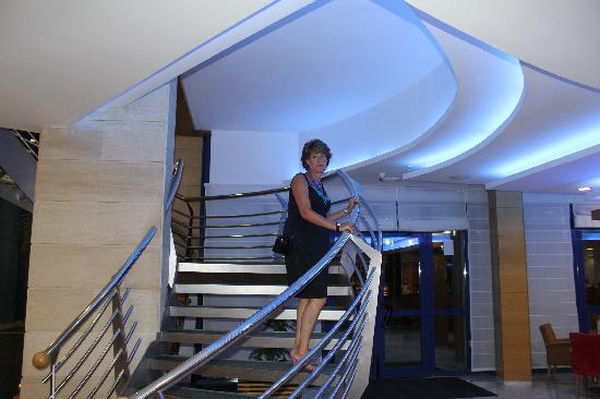 Hotel Madeira Centro: en la escalinata
