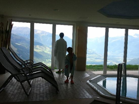 Mals im Vinschgau, Italien: vista dalla zona welness