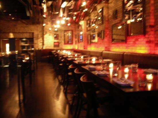 Ultra Supper Club : banquettes